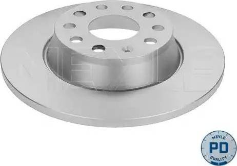 Meyle 115 523 0025/PD - Bremžu diski interparts.lv