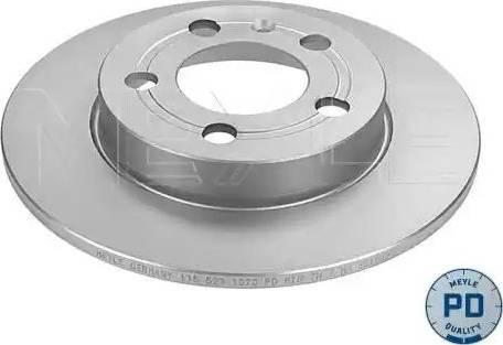 Meyle 115 523 0021/PD - Bremžu diski interparts.lv