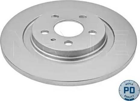 Meyle 11-15 523 0011/PD - Bremžu diski interparts.lv