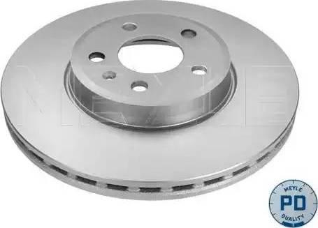 Meyle 183 521 0001/PD - Bremžu diski interparts.lv