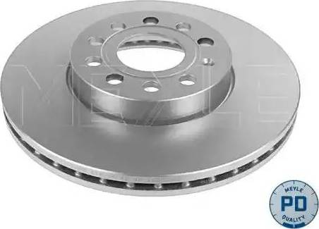 Meyle 183 521 1045/PD - Bremžu diski interparts.lv
