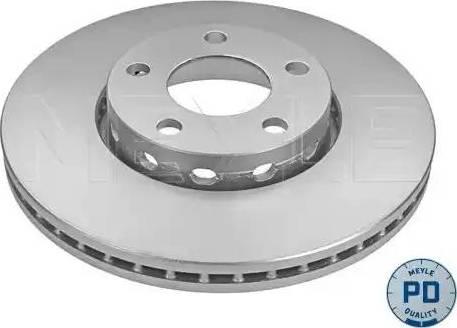 Meyle 183 521 1040/PD - Bremžu diski interparts.lv