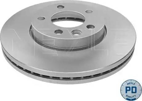 Meyle 183 521 1053/PD - Bremžu diski interparts.lv