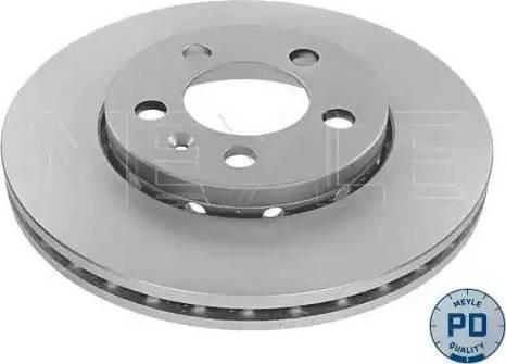 Meyle 183 521 1018/PD - Bremžu diski interparts.lv