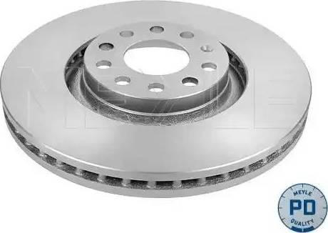 Meyle 183 521 1083/PD - Bremžu diski interparts.lv