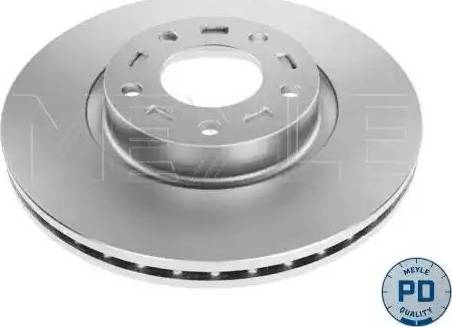 Meyle 35-15 521 0039/PD - Bremžu diski interparts.lv