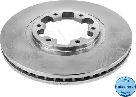 Meyle 36-15 521 0024 - Bremžu diski interparts.lv