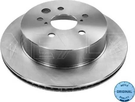 Meyle 30-15 523 0036 - Bremžu diski interparts.lv