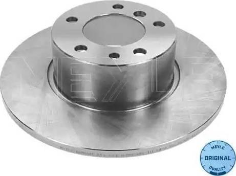 Meyle 315 521 3006 - Bremžu diski interparts.lv