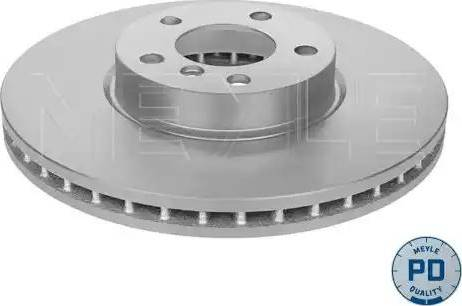 Meyle 383 521 0004/PD - Bremžu diski interparts.lv