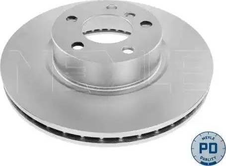 Meyle 383 521 0012/PD - Bremžu diski interparts.lv