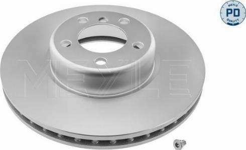 Meyle 383 521 1014/PD - Bremžu diski interparts.lv