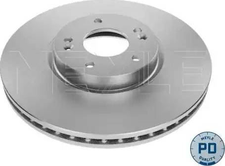 Meyle 37-15 521 0033/PD - Bremžu diski interparts.lv
