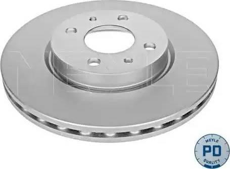 Meyle 215 521 0002/PD - Bremžu diski interparts.lv
