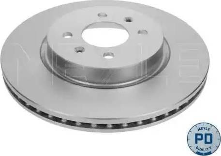 Meyle 28-15 521 0023/PD - Bremžu diski interparts.lv