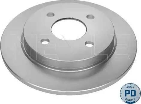 Meyle 715 523 0010/PD - Bremžu diski interparts.lv