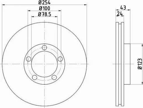 Mintex MDC996 - Bremžu diski interparts.lv