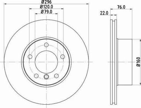 Mintex MDC989 - Bremžu diski interparts.lv