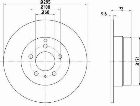 Mintex MDC920 - Bremžu diski interparts.lv