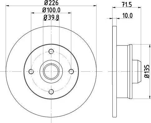 Mintex MDC502 - Bremžu diski interparts.lv
