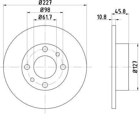 Mintex MDC6 - Bremžu diski interparts.lv