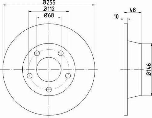 Mintex MDC1462 - Bremžu diski interparts.lv
