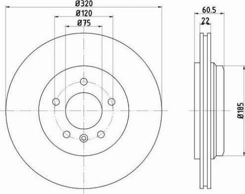 Mintex MDC1404 - Bremžu diski interparts.lv