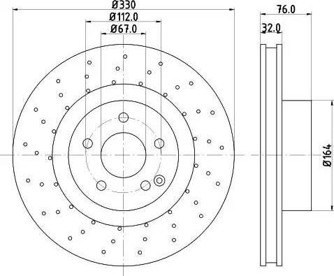Mintex MDC1425 - Bremžu diski interparts.lv