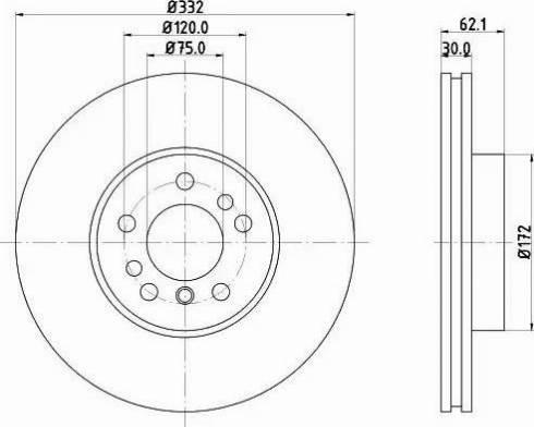 Mintex MDC1131 - Bremžu diski interparts.lv