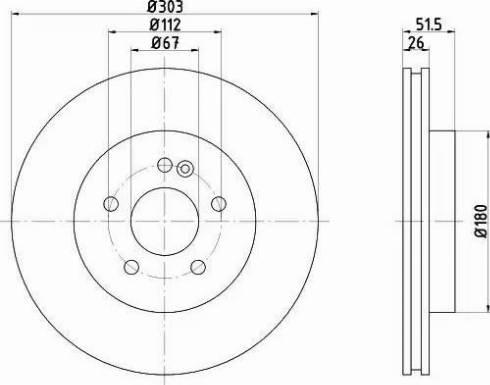 Mintex MDC1359 - Bremžu diski interparts.lv