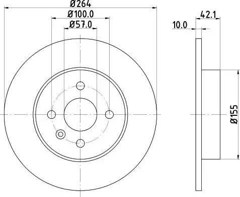 Mintex MDC1791 - Bremžu diski interparts.lv