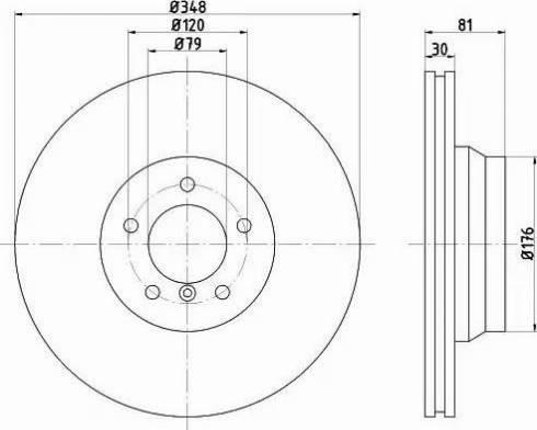 Mintex MDC1792 - Bremžu diski interparts.lv