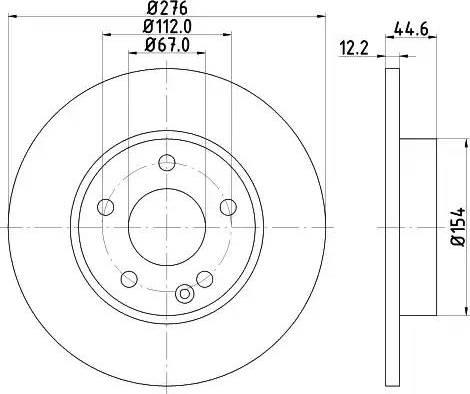 Mintex MDC1751 - Bremžu diski interparts.lv