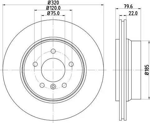 Mintex MDC1720 - Bremžu diski interparts.lv