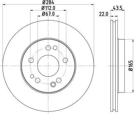 Mintex MDC373 - Bremžu diski interparts.lv