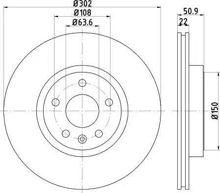 Mintex MDC2199 - Bremžu diski interparts.lv