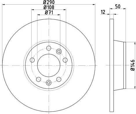 Mintex MDC2193 - Bremžu diski interparts.lv
