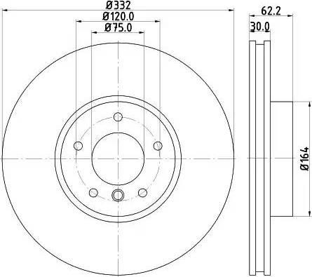 Mintex MDC2329 - Bremžu diski interparts.lv