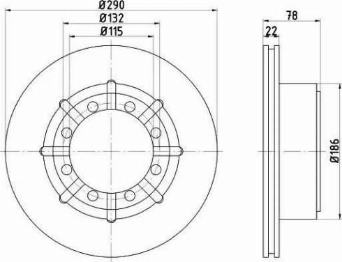Mintex MDC2379 - Bremžu diski interparts.lv