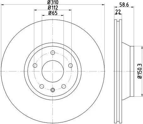 Mintex MDC2290 - Bremžu diski interparts.lv