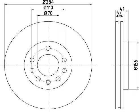 Mintex MDC797 - Bremžu diski interparts.lv