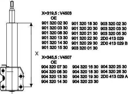 SACHS 115 906 - Amortizators interparts.lv