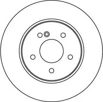 Motaquip LVBD1087Z - Bremžu diski interparts.lv