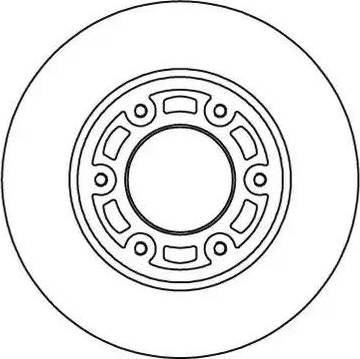 Motaquip LVBD1072Z - Bremžu diski interparts.lv