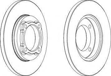A.B.S. 16017 - Bremžu diski interparts.lv