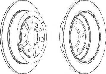 E.T.F. 19-3281 - Bremžu diski interparts.lv