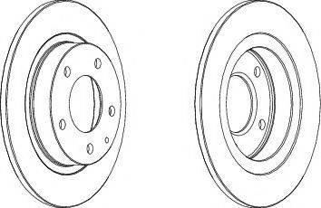 A.B.S. 16090 - Bremžu diski interparts.lv
