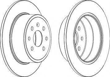 LYNXauto BN-1862 - Bremžu diski interparts.lv