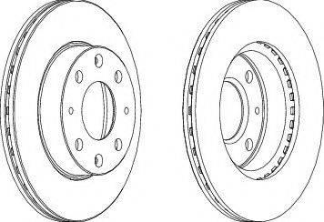 LYNXauto BN-1510 - Bremžu diski interparts.lv