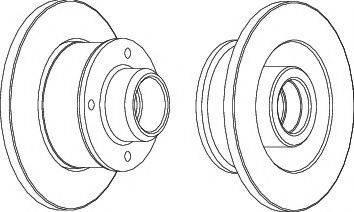 LYNXauto BN-1897 - Bremžu diski interparts.lv